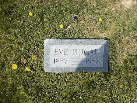 DUGAN, EVE - Brown County, Ohio | EVE DUGAN - Ohio Gravestone Photos