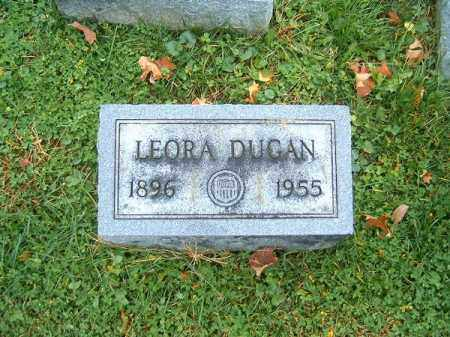DUGAN, LEORA - Brown County, Ohio | LEORA DUGAN - Ohio Gravestone Photos