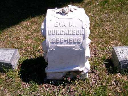 DUNCANSON, EVA  M - Brown County, Ohio | EVA  M DUNCANSON - Ohio Gravestone Photos