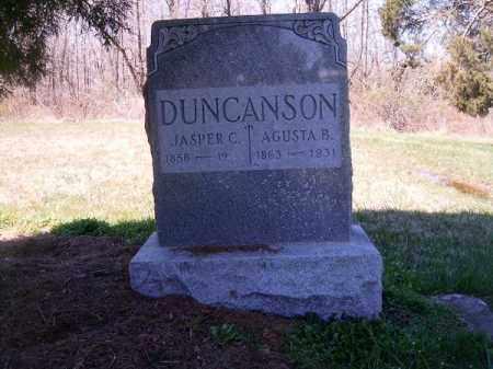 DUNCANSON, JASPER C - Brown County, Ohio | JASPER C DUNCANSON - Ohio Gravestone Photos