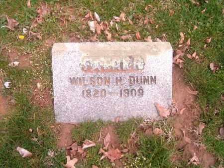 DUNN, WILSON  M - Brown County, Ohio | WILSON  M DUNN - Ohio Gravestone Photos