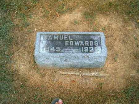 EDWARDS, SAMUEL - Brown County, Ohio | SAMUEL EDWARDS - Ohio Gravestone Photos