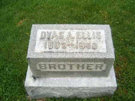 ELLIS, DYAS  A - Brown County, Ohio | DYAS  A ELLIS - Ohio Gravestone Photos