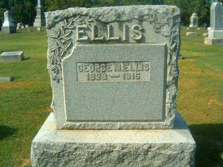 ELLIS, GEORGE  M - Brown County, Ohio | GEORGE  M ELLIS - Ohio Gravestone Photos