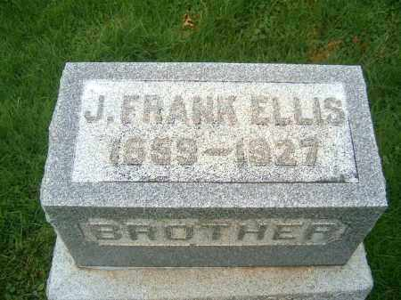 FRANK ELLIS, J - Brown County, Ohio | J FRANK ELLIS - Ohio Gravestone Photos