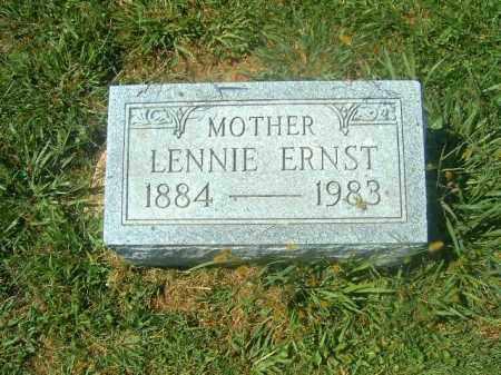 ERNST, LENNIE - Brown County, Ohio   LENNIE ERNST - Ohio Gravestone Photos