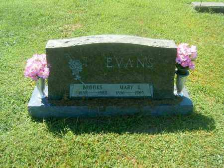 EVANS, MARY L - Brown County, Ohio | MARY L EVANS - Ohio Gravestone Photos