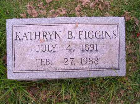 FIGGINS, KATHRYN  B - Brown County, Ohio | KATHRYN  B FIGGINS - Ohio Gravestone Photos