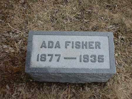 FISHER, ADA - Brown County, Ohio | ADA FISHER - Ohio Gravestone Photos