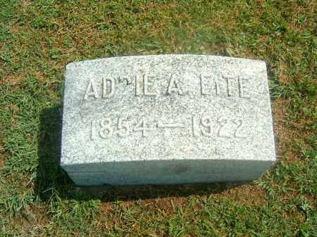 FITE, ADDIE  A - Brown County, Ohio | ADDIE  A FITE - Ohio Gravestone Photos