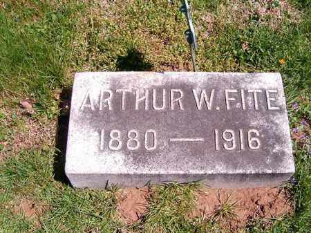 FITE, ARTHUR  W - Brown County, Ohio | ARTHUR  W FITE - Ohio Gravestone Photos
