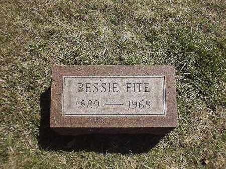FITE, BESSIE - Brown County, Ohio | BESSIE FITE - Ohio Gravestone Photos