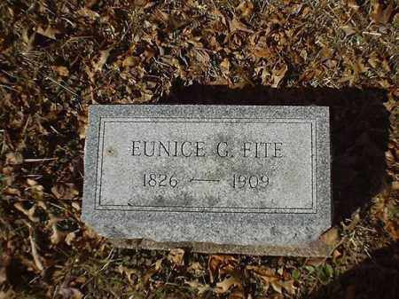 FITE, EUNICE  G - Brown County, Ohio | EUNICE  G FITE - Ohio Gravestone Photos