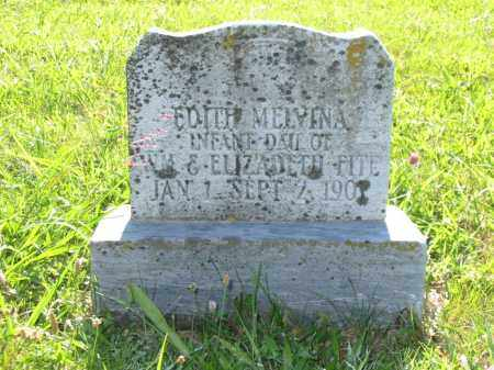 FITE, EDITH MELVINA - Brown County, Ohio | EDITH MELVINA FITE - Ohio Gravestone Photos