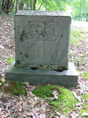 FITE, INFANT SON - Brown County, Ohio | INFANT SON FITE - Ohio Gravestone Photos
