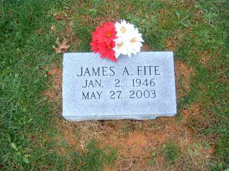 FITE, JAMES  A - Brown County, Ohio | JAMES  A FITE - Ohio Gravestone Photos