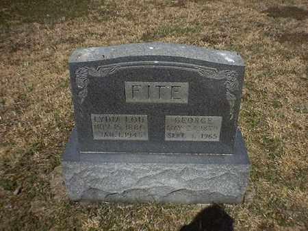 FITE, GEORGE - Brown County, Ohio | GEORGE FITE - Ohio Gravestone Photos