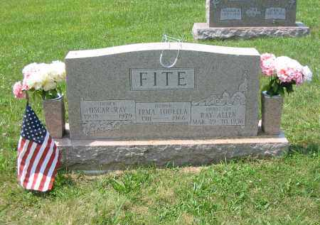 FITE, OSCAR RAY - Brown County, Ohio | OSCAR RAY FITE - Ohio Gravestone Photos