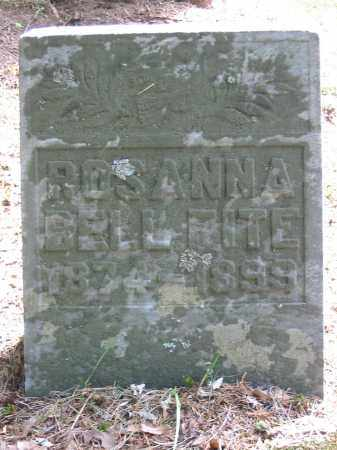 FITE, ROSANNA BELL - Brown County, Ohio | ROSANNA BELL FITE - Ohio Gravestone Photos