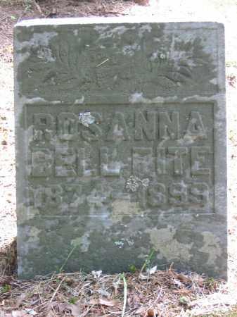 FITE, ROSANNA BELL - Brown County, Ohio | ROSANNA BELL FITE - Ohio Gravestone Photos