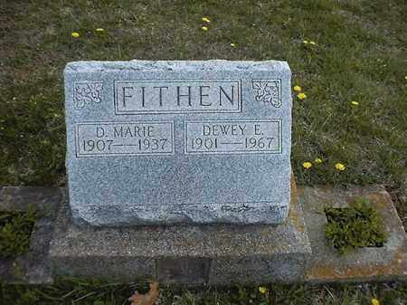FITHEN, DEWEY  E - Brown County, Ohio | DEWEY  E FITHEN - Ohio Gravestone Photos