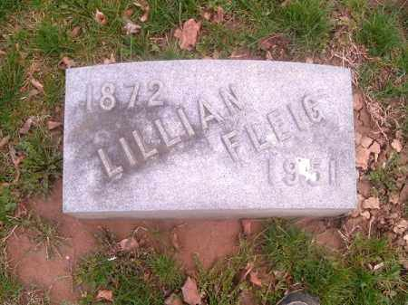 FLEIG, LILLIAN - Brown County, Ohio | LILLIAN FLEIG - Ohio Gravestone Photos