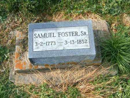 FOSTER, SAMUEL  SR - Brown County, Ohio | SAMUEL  SR FOSTER - Ohio Gravestone Photos