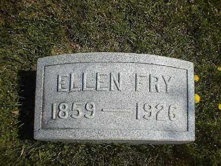 FRY, ELLEN - Brown County, Ohio | ELLEN FRY - Ohio Gravestone Photos