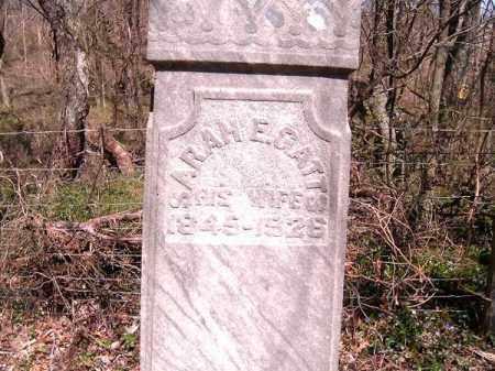 GATTS, SARAH   E - Brown County, Ohio | SARAH   E GATTS - Ohio Gravestone Photos