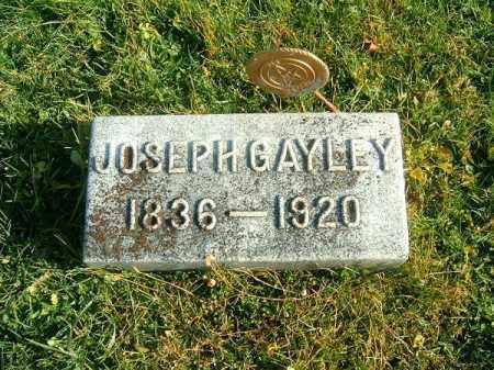 GAYLEY, JOSEPH - Brown County, Ohio | JOSEPH GAYLEY - Ohio Gravestone Photos