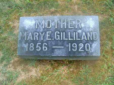 GILLILAND, MARY  E - Brown County, Ohio | MARY  E GILLILAND - Ohio Gravestone Photos