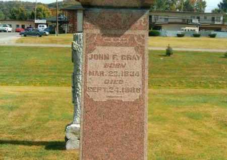 GRAY, JOHN F - Brown County, Ohio | JOHN F GRAY - Ohio Gravestone Photos