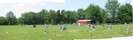 GREENBUSH CEMETERY, PANORAMIC VIEW - Brown County, Ohio | PANORAMIC VIEW GREENBUSH CEMETERY - Ohio Gravestone Photos