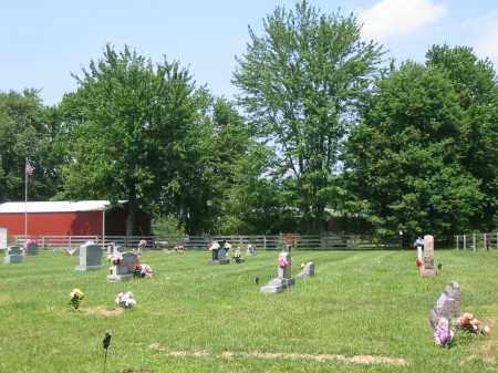 GREENBUSH CEMETERY, VIEW 4- EASTNORTHEAST - Brown County, Ohio | VIEW 4- EASTNORTHEAST GREENBUSH CEMETERY - Ohio Gravestone Photos