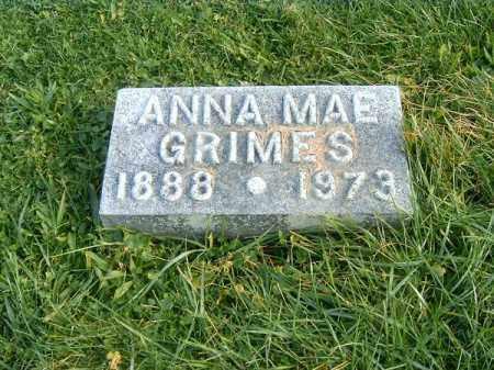 GRIMES, ANNA  MAE - Brown County, Ohio | ANNA  MAE GRIMES - Ohio Gravestone Photos