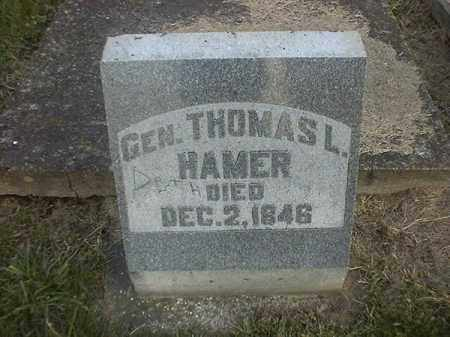 HAMER, THOMAS  L - Brown County, Ohio | THOMAS  L HAMER - Ohio Gravestone Photos