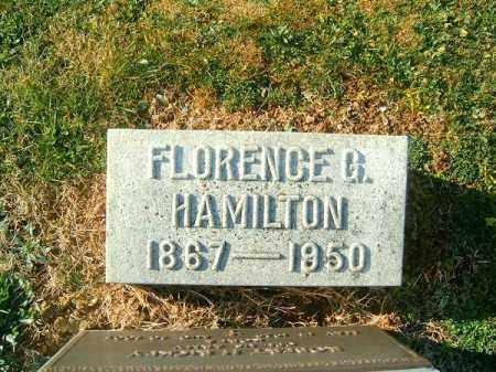 HAMILTON, FLORENCE  G - Brown County, Ohio | FLORENCE  G HAMILTON - Ohio Gravestone Photos
