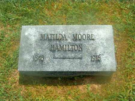 HAMILTON, MATILDA - Brown County, Ohio | MATILDA HAMILTON - Ohio Gravestone Photos