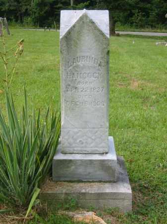 LANDEN HANCOCK, LAURINDA - Brown County, Ohio | LAURINDA LANDEN HANCOCK - Ohio Gravestone Photos