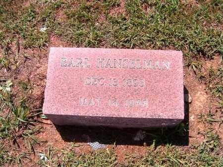 HANSELMAN, EARL - Brown County, Ohio | EARL HANSELMAN - Ohio Gravestone Photos