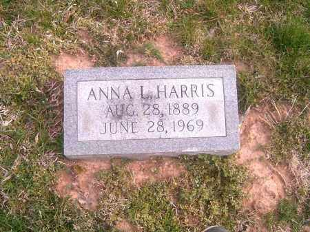 HARRIS, ANNA L - Brown County, Ohio | ANNA L HARRIS - Ohio Gravestone Photos