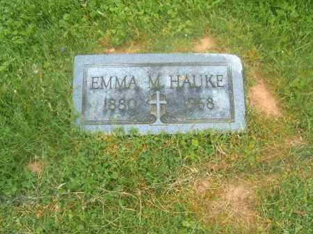 HAUKE, EMMA  M - Brown County, Ohio | EMMA  M HAUKE - Ohio Gravestone Photos