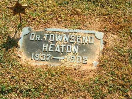 HEATON, TOWNSEND - Brown County, Ohio | TOWNSEND HEATON - Ohio Gravestone Photos