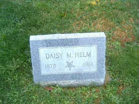 HELM, DAISY  M - Brown County, Ohio | DAISY  M HELM - Ohio Gravestone Photos