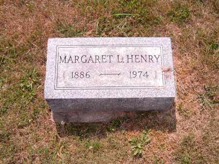HENRY, MARGARET  L - Brown County, Ohio | MARGARET  L HENRY - Ohio Gravestone Photos