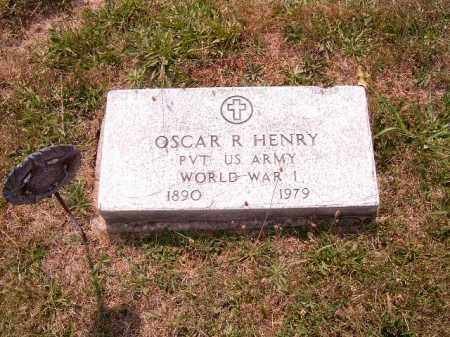 HENRY, OSCAR  R - Brown County, Ohio | OSCAR  R HENRY - Ohio Gravestone Photos