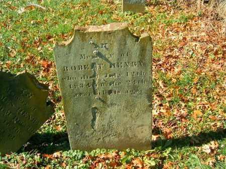 HENRY, ROBERT - Brown County, Ohio | ROBERT HENRY - Ohio Gravestone Photos