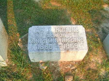 HIGGINS, WILLIAM  T - Brown County, Ohio | WILLIAM  T HIGGINS - Ohio Gravestone Photos