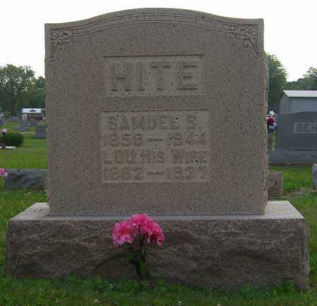 HITE, SAMUEL - Brown County, Ohio | SAMUEL HITE - Ohio Gravestone Photos