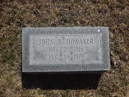 HONAKER, JOHN  B - Brown County, Ohio | JOHN  B HONAKER - Ohio Gravestone Photos